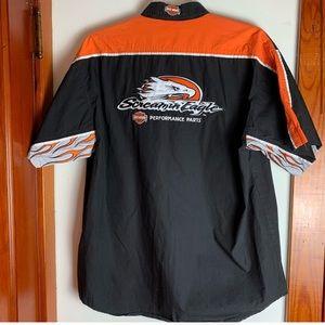 HD Screamin Eagle Performance Button Shirt